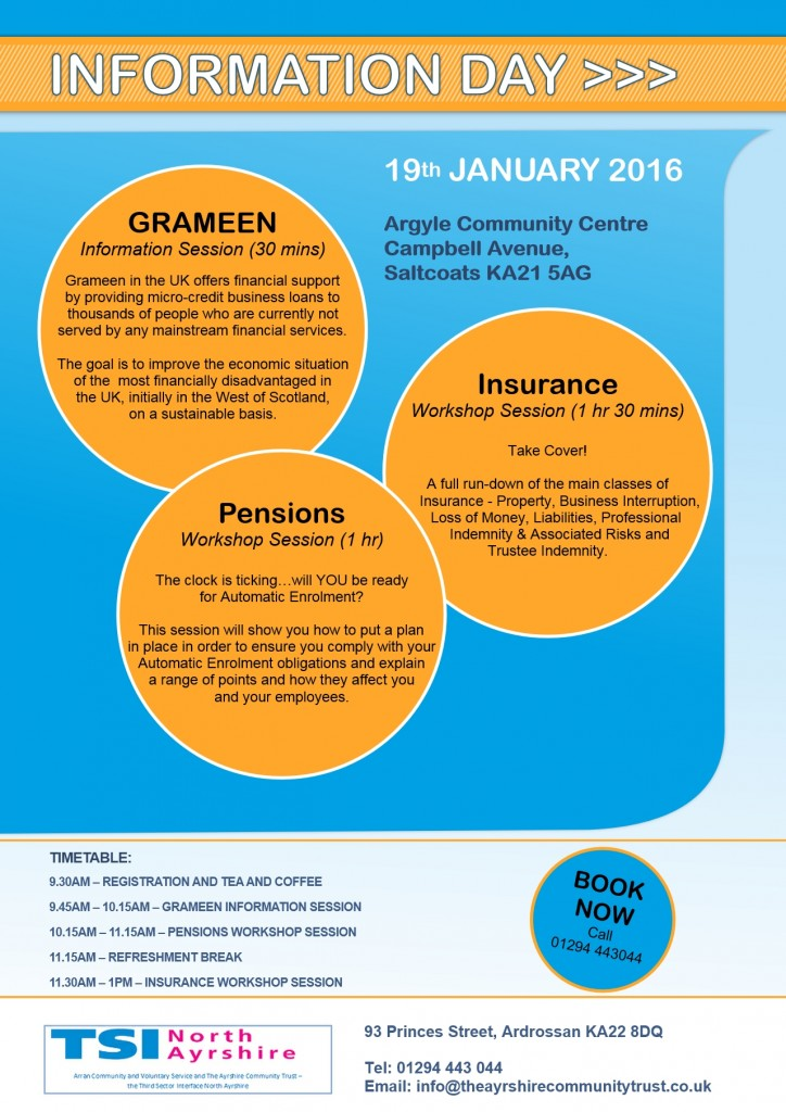 Information Day 19th January